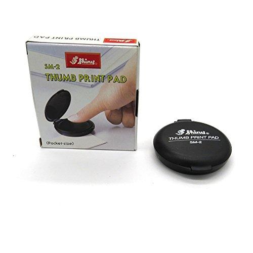 Shiny SM-2 Finger and Thumb Print Ink Pad